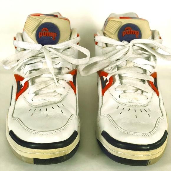 fc933bdab53 Reebok Pump Pump Court Victory II Sneakers. M 5ab7d1b4caab44b25b976cb0